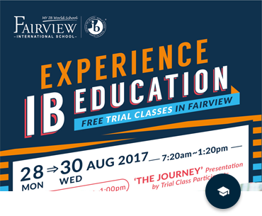 Free Trial Classes In Fairview KL Campus (28 – 30 August 2017)
